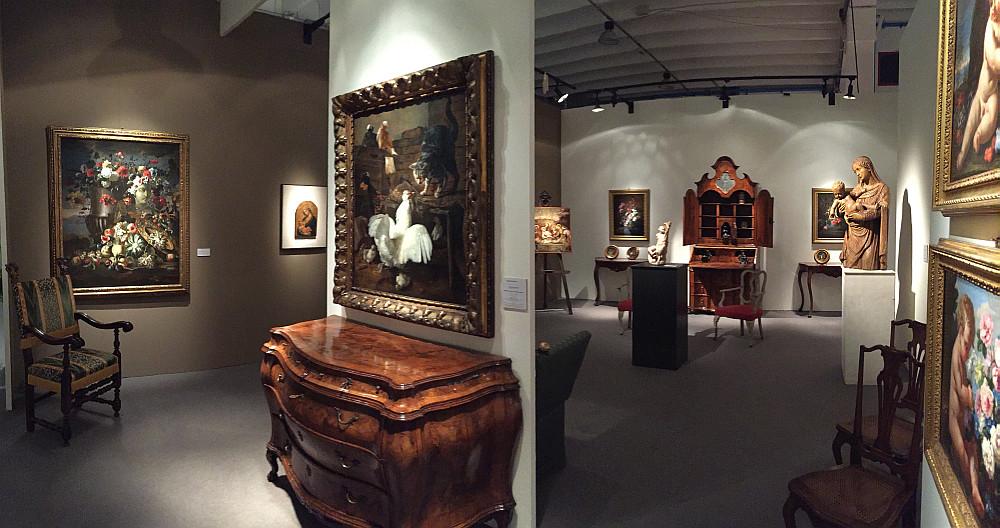 Galleria d 39 arte medioevale e rinascimentale antiquariato - Mostre design milano ...